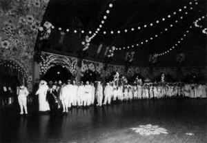 Скейтинг-ринг, Белый Бал на Марсовом поле. Карнавальное шествие. Петербург. 1913 г.